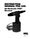 POP PRG540 Tool Manual (PRG540, PRG544)